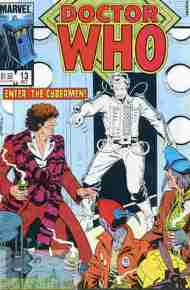 """Yesterday's"" Comic> Doctor Who #13 (Marvel US)"
