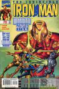 """Yesterday's"" Comic> Iron Man vol. 3 #18"