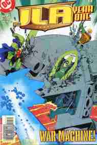 """Yesterday's"" Comic> JLA: Year One #7"