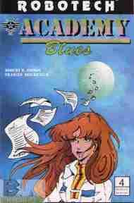 """Yesterday's"" Comic> Robotech: Academy Blues#4"