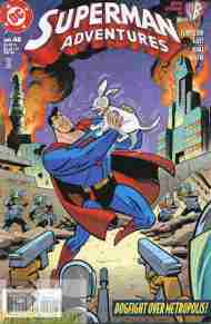 """Yesterday's"" Comic> Superman Adventures #40"