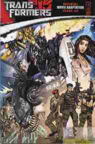 """Yesterday's"" Comic> Transformers Movie Adaptation #2"
