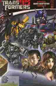 """Yesterday's"" Comic> Transformers: Official Movie Adaptation #4"