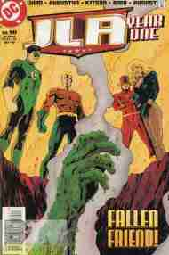 """Yesterday's"" Comic> JLA: Year One #10"