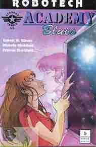 """Yesterday's"" Comic> Robotech: Academy Blues #5"