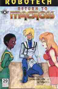 """Yesterday's"" Comic> Robotech: Return To Macross #29"