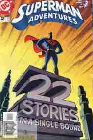 """""""Yesterday's"""" Comic> Superman Adventures#41"""