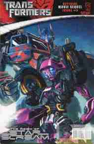 """Yesterday's"" Comic> Transformers: The Reign Of Starscream #3"