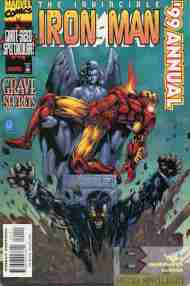 """Yesterday's"" Comic> Iron Man Annual 1999"