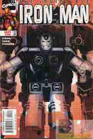 """Yesterday's"" Comic> Iron Man vol. 3 #20"