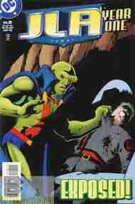 """Yesterday's"" Comic> JLA: Year One#8"