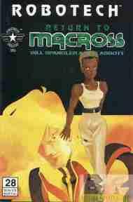 """Yesterday's"" Comic> Robotech: Return To Macross#28"