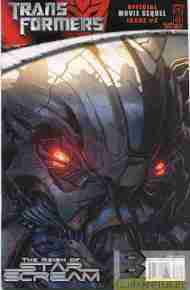 """Yesterday's"" Comic> Transformers: The Reign Of Starscream #2"