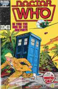 """""""Yesterday's"""" Comic> Doctor Who: #23 (Marvel) vs Classics Series 2 #10(IDW)"""