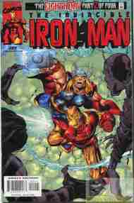 """""""Yesterday's"""" Comic> Iron Man vol. 3 #22 (The Eighth Day part2)"""