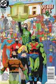 """Yesterday's"" Comic> JLA: Year One #12"