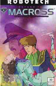 """Yesterday's"" Comic> Robotech: Return To Macross #30"