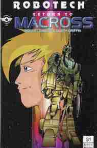 """Yesterday's"" Comic> Robotech: Return To Macross #31"