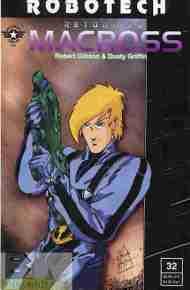"""Yesterday's"" Comic> Robotech: Return To Macross#32"