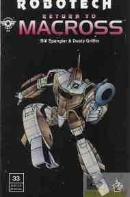 """Yesterday's"" Comic> Robotech: Return To Macross#33"