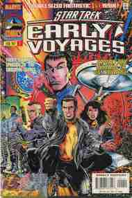 """""""Yesterday's"""" Comic> Star Trek: Early Voyages#1"""