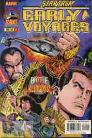 """Yesterday's"" Comic> Star Trek: Early Voyages #2"
