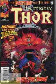 """Yesterday's"" Comic> Thor volume 3 #17 (The Eighth Day part 1)"