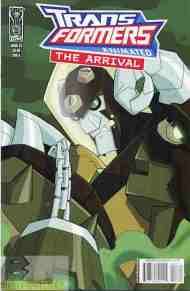 """Yesterday's"" Comic> Transformers Animated: The Arrival #3"