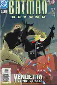 """Yesterday's"" Comic> Batman Beyond vol 2 #8 (DCAU)"