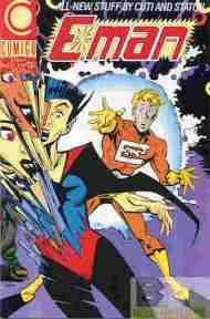 """""""Yesterday's"""" Comic> E-Man #1(Comico)"""