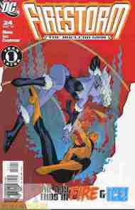 """Yesterday's"" Comic> Firestorm: The Nuclear Man #24"