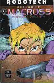 """Yesterday's"" Comic> Robotech: Return To Macross#36"