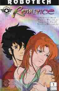 """Yesterday's"" Comic> Robotech Romance"
