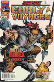 """Yesterday's"" Comic> Star Trek: Early Voyages #3"
