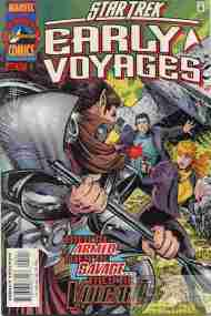 """""""Yesterday's"""" Comic> Star Trek: Early Voyages#5"""