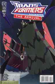 """Yesterday's"" Comic> Transformers Animated: The Arrival #4"