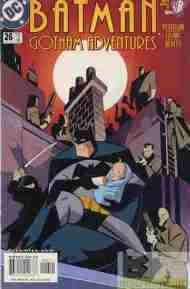 """Yesterday's"" Comic> Batman: Gotham Adventures#26"