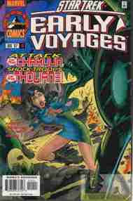 """Yesterday's"" Comic> Star Trek: Early Voyages #10"