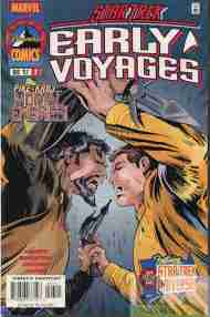 """""""Yesterday's"""" Comic> Star Trek: Early Voyages#7"""