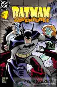 """Yesterday's"" Comic> Batman Adventures#1"