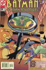 """Yesterday's"" Comic> Batman: Gotham Adventures#28"