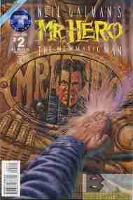 """""""Yesterday's"""" Comic> Mr. Hero: The Newmatic Man#2"""