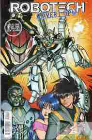 """Yesterday's"" Comic> Robotech: Covert Ops #1"