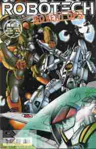 """Yesterday's"" Comic> Robotech: Covert Ops #2"
