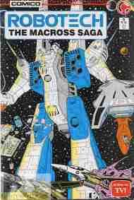 """Yesterday's"" Comic> Robotech: The Macross Saga#5"
