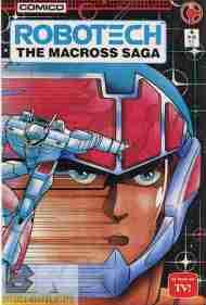 """Yesterday's"" Comic> Robotech: The Macross Saga#6"