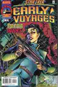 """Yesterday's"" Comic> Star Trek: Early Voyages #11"