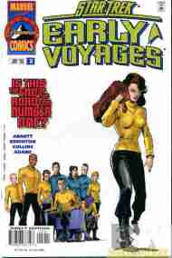 """Yesterday's"" Comic> Star Trek: Early Voyages #12"