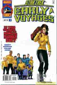 cover to issue 12 of Star Trek: Early Voyages