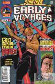 """Yesterday's"" Comic> Star Trek: Early Voyages #13"